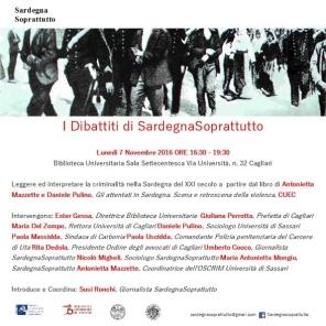 Cagliari – Leggere ed interpretare la criminalità nella Sardegna del XXI secolo