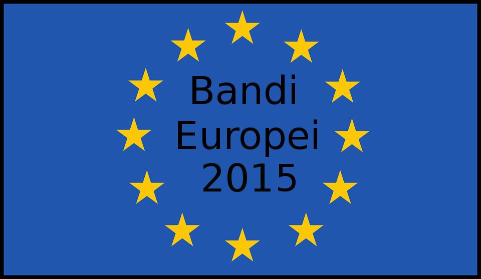 Bandi Europei 2015