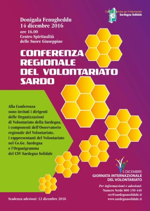 Donigala Fenugheddu (OR) – Conferenza Regionale del Volontariato