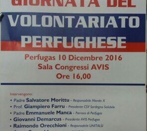 Perfugas – Giornata del Volontariato perfughese