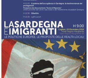 Cagliari – La Sardegna e i migranti: le politiche europee, le proposte delle realtà locali