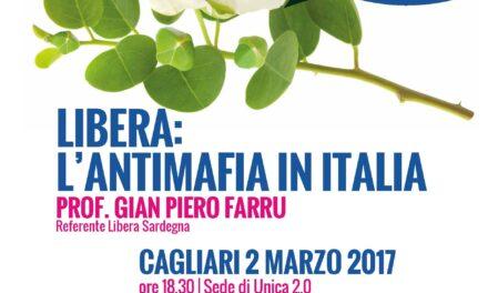 Cagliari – Libera: l'antimafia in Italia