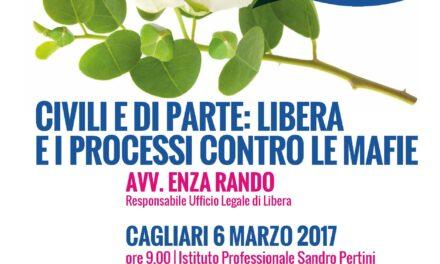 Cagliari – Civili e di parte. Libera e i processi contro le mafie (Ist Pertini)