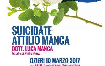 Ozieri – Suicidate Attilio Manca