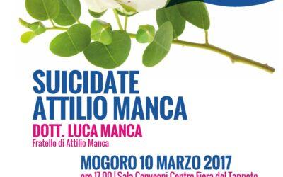 Mogoro – Suicidate Attilio Manca