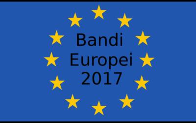 Bandi Europei 2017