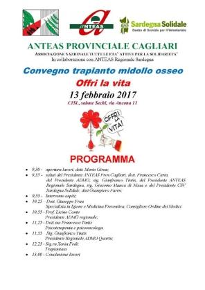 Cagliari – Offri la vita