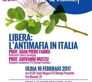 Olbia – Istituto Tecnico Panedda – Libera: l'antimafia in Italia