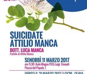 Senorbì – Suicidate Attilio Manca