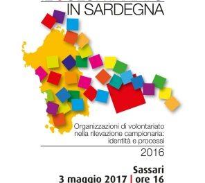Il Volontariato in Sardegna: presentazione ricerca – Sassari 03 maggio 2017