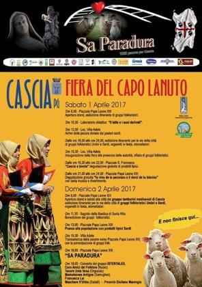 """Cascia – """"Sa Paradura"""", mille pecore dalla Sardegna per una antica usanza solidale"""