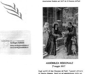 Cuglieri – Convegno Regionale dei Gruppi di Volontariato Vincenziano della Sardegna