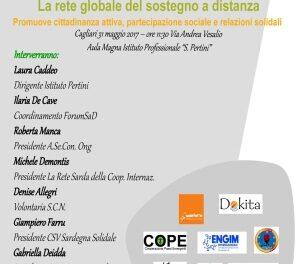 Cagliari – La rete globale del sostegno a distanza promuove cittadinanza attiva