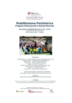 Cagliari – Riabilitazione Psichiatrica. Progetti Psicosociali in Salute Mentale