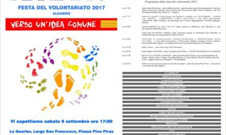 Alghero – Festival del Volontariato 2017 – Verso un'idea comune