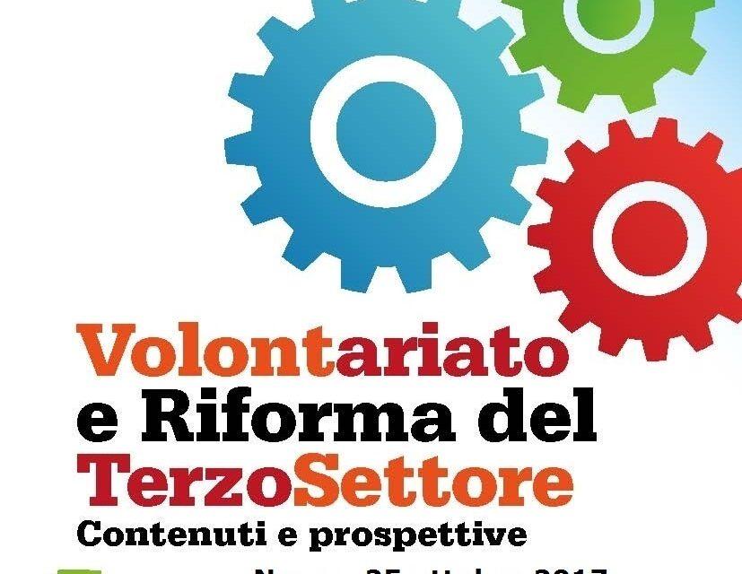 Nuoro – Volontariato e Riforma del Terzo Settore. Contenuti e prospettive