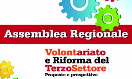 """""""Volontariato e Riforma del Terzo Settore"""" – Assemblea Regionale, Tramatza 06 dicembre 2017"""