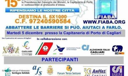 Cagliari – FIABADAY, Giornata Nazionale per l'abbattimento delle barriere architettoniche