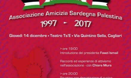 Cagliari – 20 anni di amicizia Sardegna-Palestina