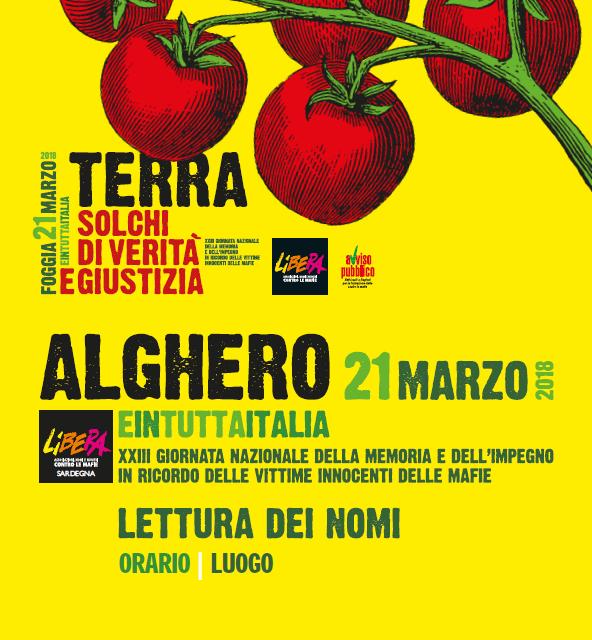"""Cagliari – Iniziative di formazione """"Verso il 21 marzo"""""""