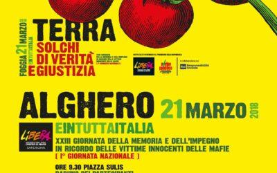 """Le iniziative """"Verso il 21 marzo"""" in Sardegna"""