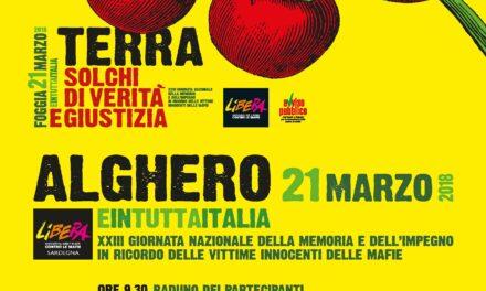 Cagliari – Conferenza stampa di presentazione della XXIII Giornata della memoria e dell'impegno in ricordo delle vittime innocenti delle mafie
