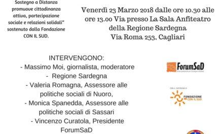 Cagliari – Il sostegno a distanza, fare Rete per realizzare un obiettivo comune