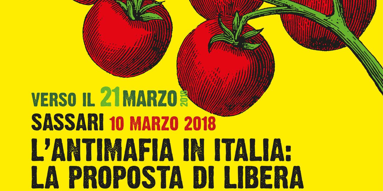 Sassari – L'antimafia in Italia: la proposta di Libera
