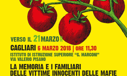 Cagliari – La memoria e i famigliari delle vittime innocenti delle mafie