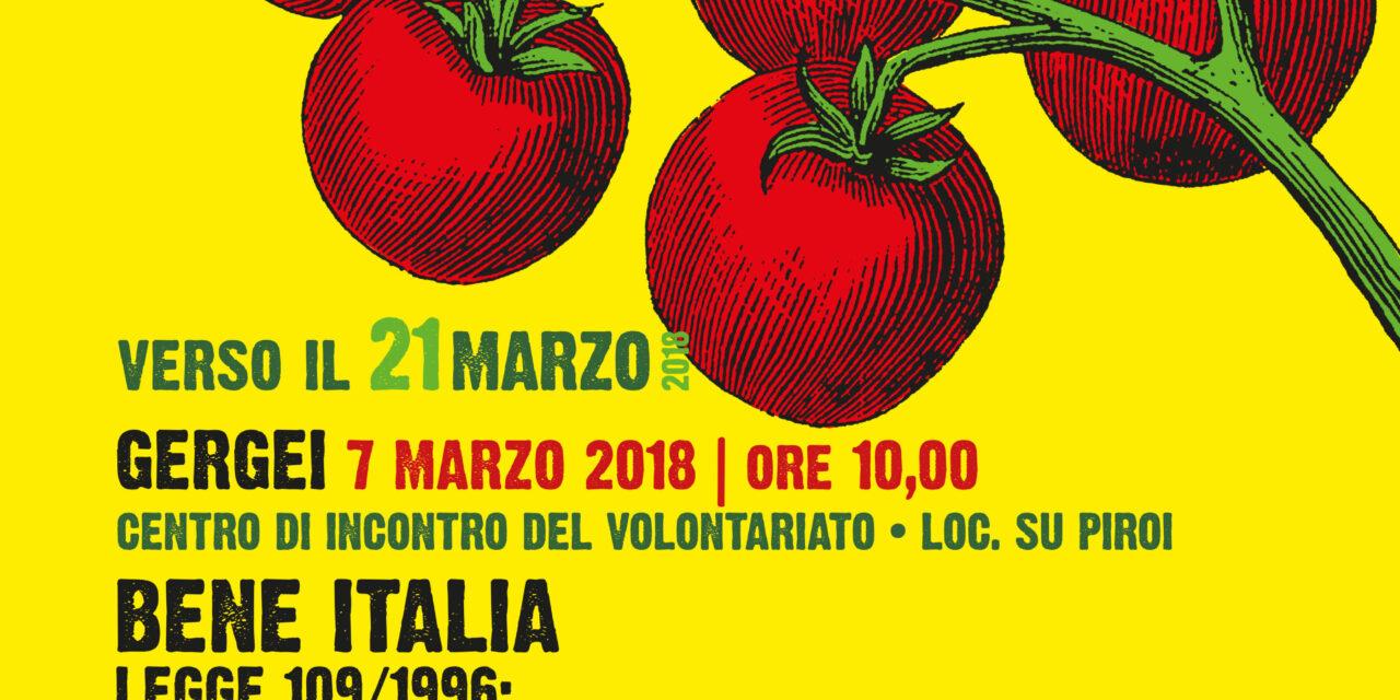 Gergei Su Piroi – Bene Italia.Legge 109/96: l'uso sociale dei beni confiscati alle mafie