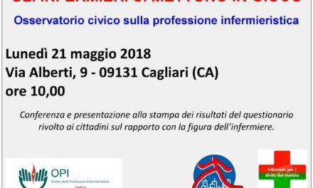 Cagliari – Gli infermieri si mettono in gioco