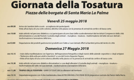Santa Maria La Palma – Festa della Tosatura