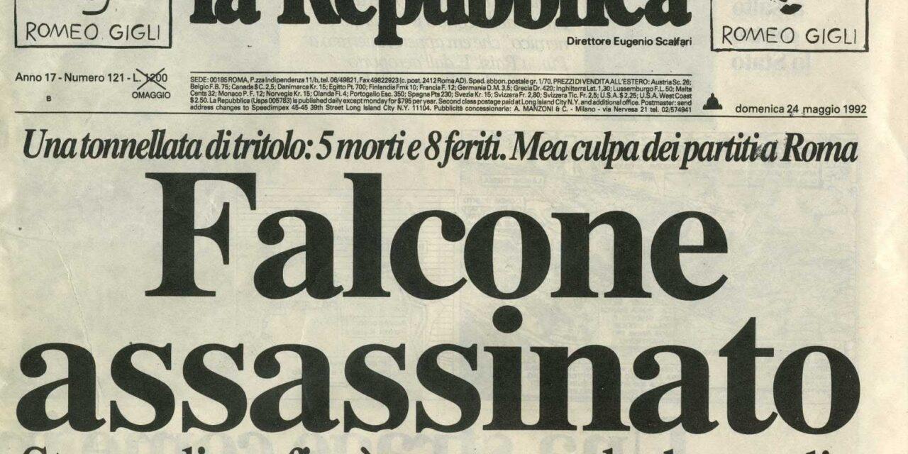 """Cagliari – Il presidio """"Emanuela Loi"""" ricorda la strage di Capaci"""