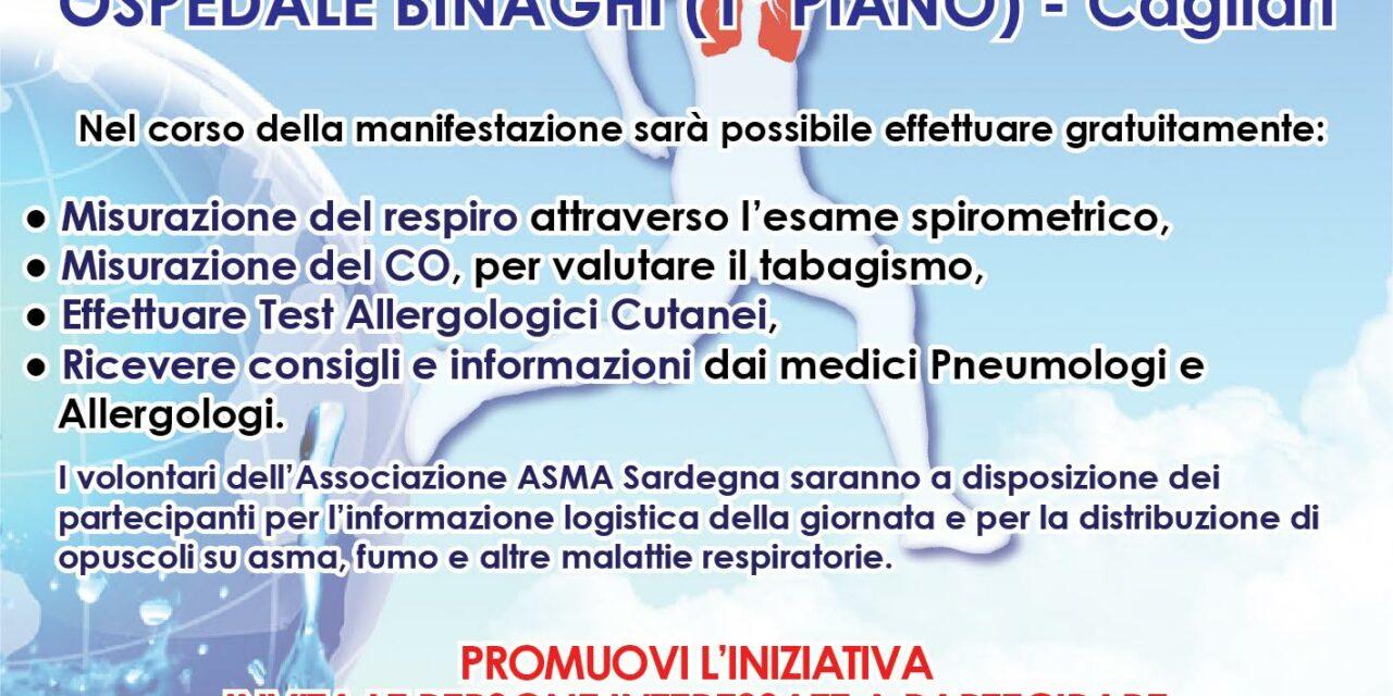 Cagliari – Giornata nazionale del respiro e Giornata mondiale contro il fumo
