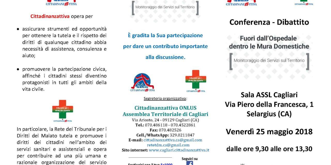 Cagliari – Fuori dall'Ospedale, dentro le Mura Domestiche. Monitoraggio dei Servizi sul Territorio