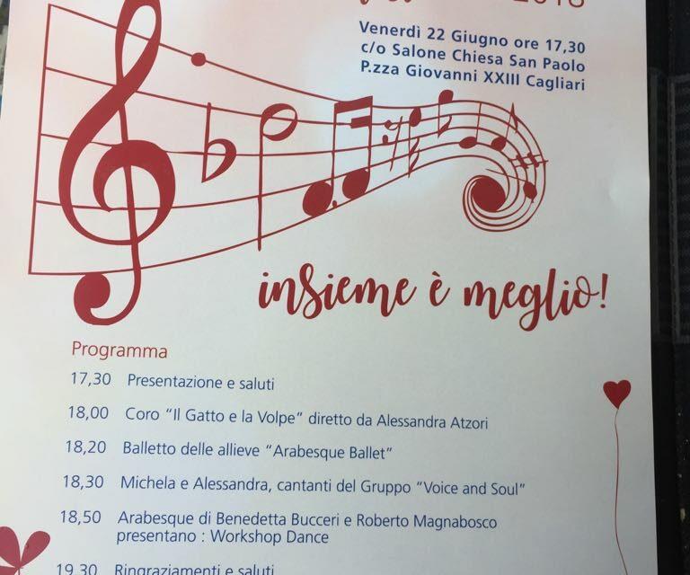 Cagliari – AMA la festa 2018 – Insieme è meglio