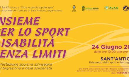 Sant'Antioco – Insieme per lo sport, Disabilità senza limiti