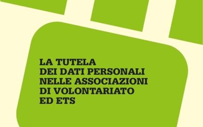 Donigala F. – Oltre 300 volontari al seminario sulla privacy. Il pdf del testo pubblicato