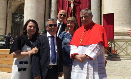 Ozieri – Il Cardinale Giovanni Angelo Becciu visita la Diocesi di Ozieri e la Sardegna