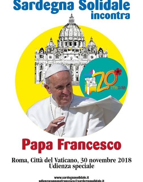 Udienza Speciale con Papa Francesco: scadenza iscrizioni 31 ottobre 2018
