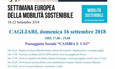 """Cagliari – """"Cambia e Vai!"""" – Settimana europea della mobilità sostenibile"""
