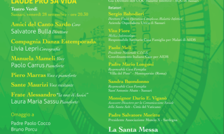 Sassari – Ventennale della Casa Famiglia Sant'Antonio abate