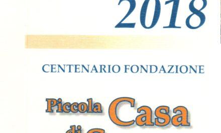 Cagliari – La Piccola Casa San Vincenzo compie 100 anni