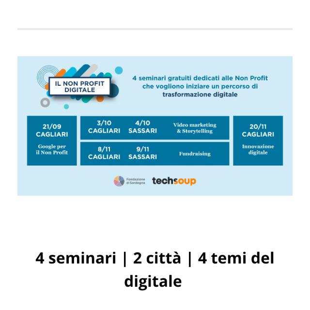 Cagliari – Google per il Non Profit