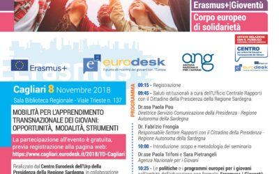 Cagliari – TrainingDay Erasmus+ Gioventù e Corpo Europeo di Solidarietà