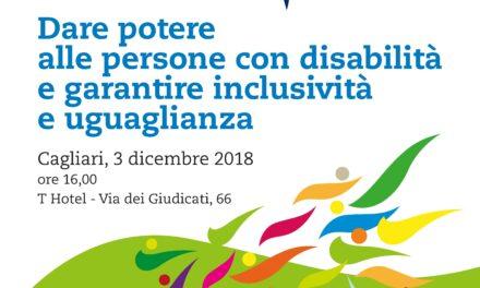 Cagliari – Dare potere alle persone con disabilità e garantire inclusività e uguaglianza