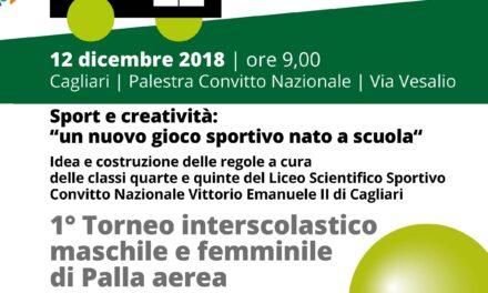 """Cagliari – Sport e creatività: """"un nuovo gioco sportivo nato a scuola"""""""