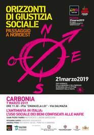Carbonia – L'antimafia in Italia: l'uso sociale dei beni confiscati alle mafie