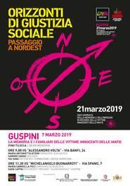 Guspini – La memoria e i famigliari delle vittime innocenti delle mafie