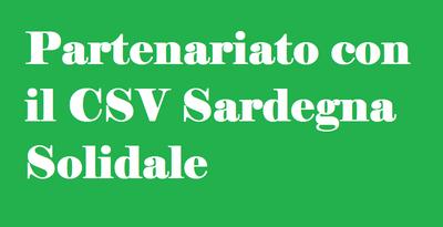 AVVISO IMPORTANTE. Partenariato con il CSV Sardegna Solidale